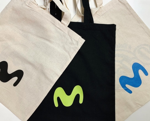 Movistar Organic Cotton Bags
