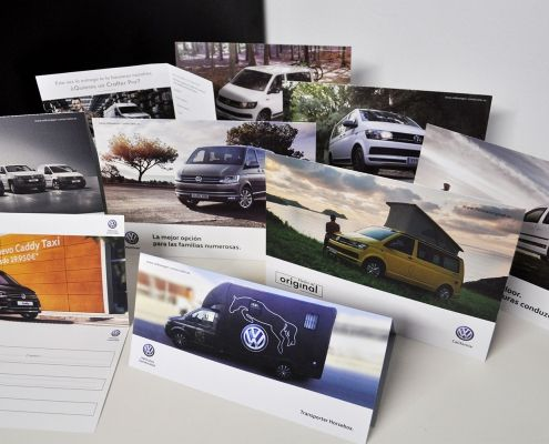 Volkswagen Flyers and Diptychs